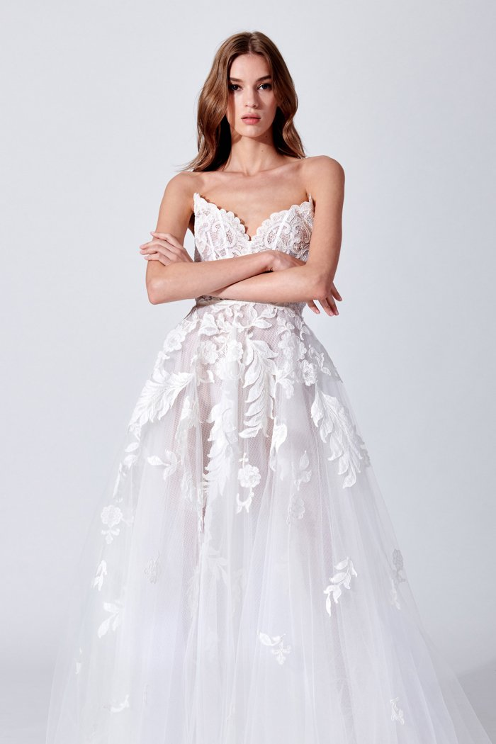 Oscar de la Renta Brautkleid Kollektion 2019 | Hochzeit um 3