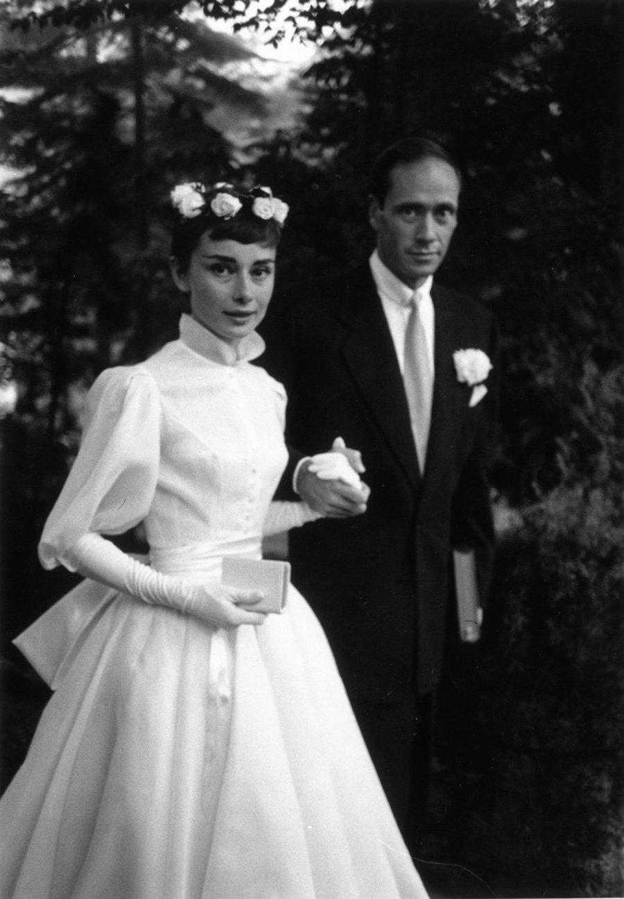 Wedding Icons Die berühmtesten Hochzeiten aller Zeiten - Audrey Hepburn