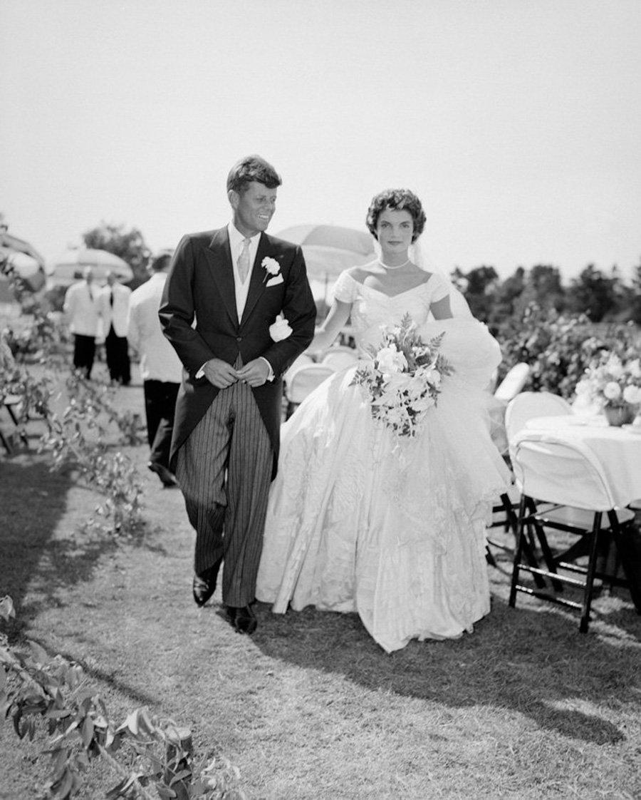 Wedding Icons Die berühmtesten Hochzeiten aller Zeiten - Jackie Kennedy Hochzeit