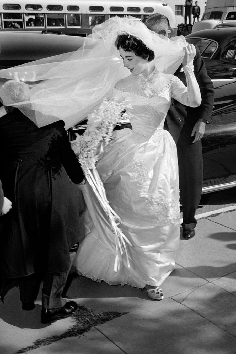 Wedding Icons Die berühmtesten Hochzeiten aller Zeiten - Elizabeth Taylor Hochzeit