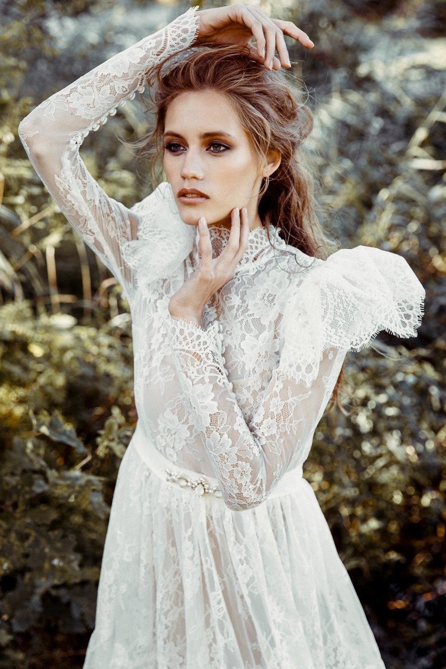 Romantisch verspielte Brautkleider
